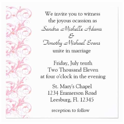 Wedding Invitation Wording Couple Hosting Wedding Invitation Wording for Couple Hosting Fresh Casual