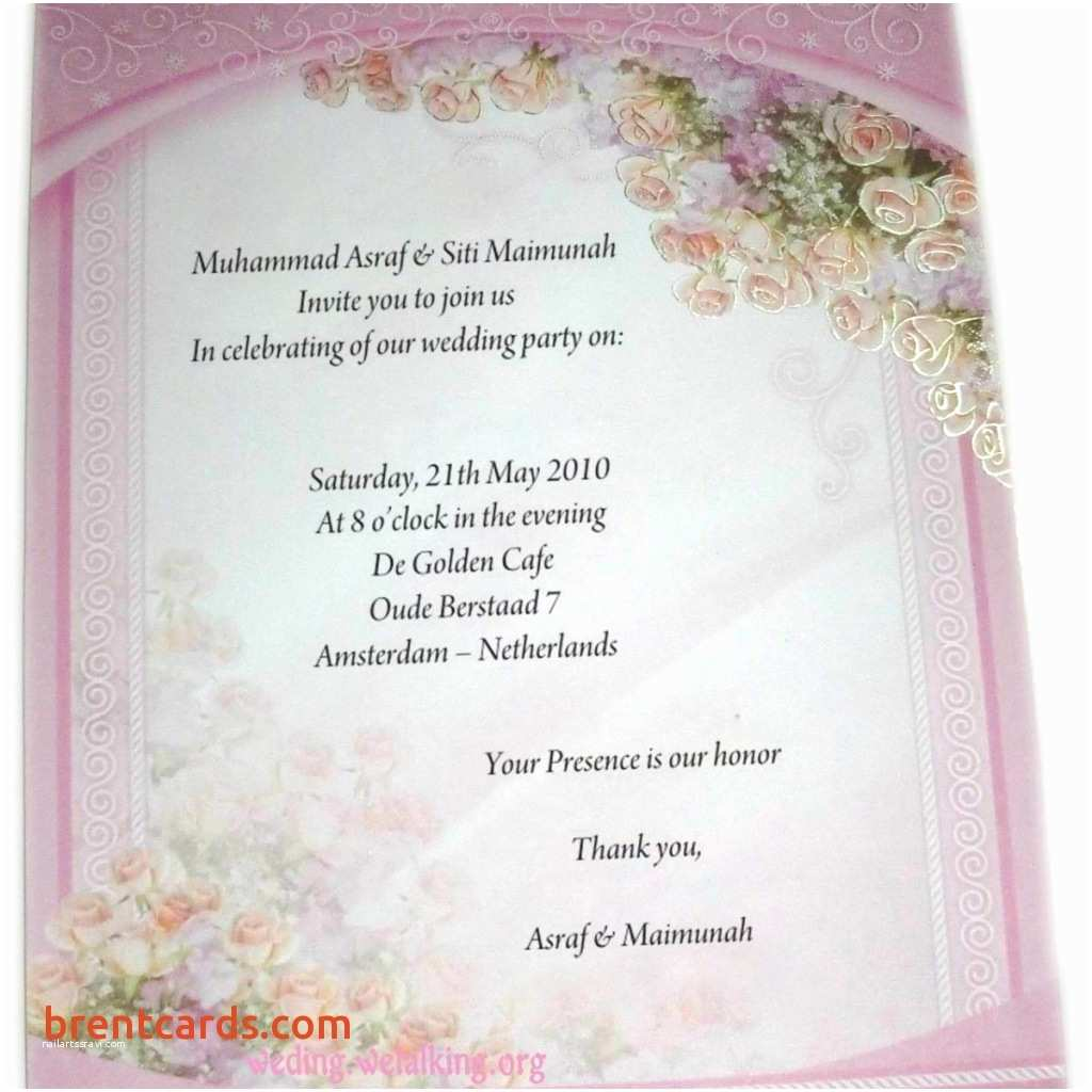 Wedding Invitation Wording for Friends Indian Wedding Invitation Wording for Friends Card