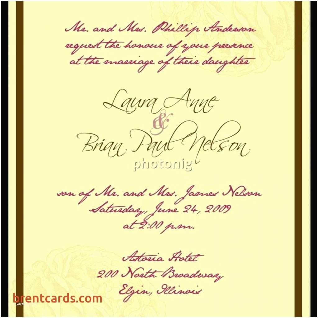 Wedding Invitation Wording for Friends Wedding Invitations for Friends Card Wording