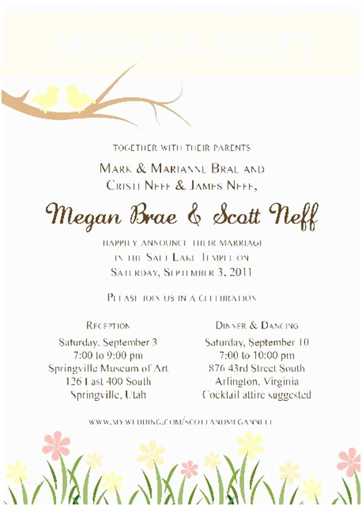 Wedding Invitation Wording From Nephew Clients Should Wedding Invitations somerset Wi You Re