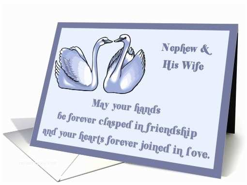 Wedding Invitation Wording From Nephew Nephew and His Wife Congratulation Your Wedding Day
