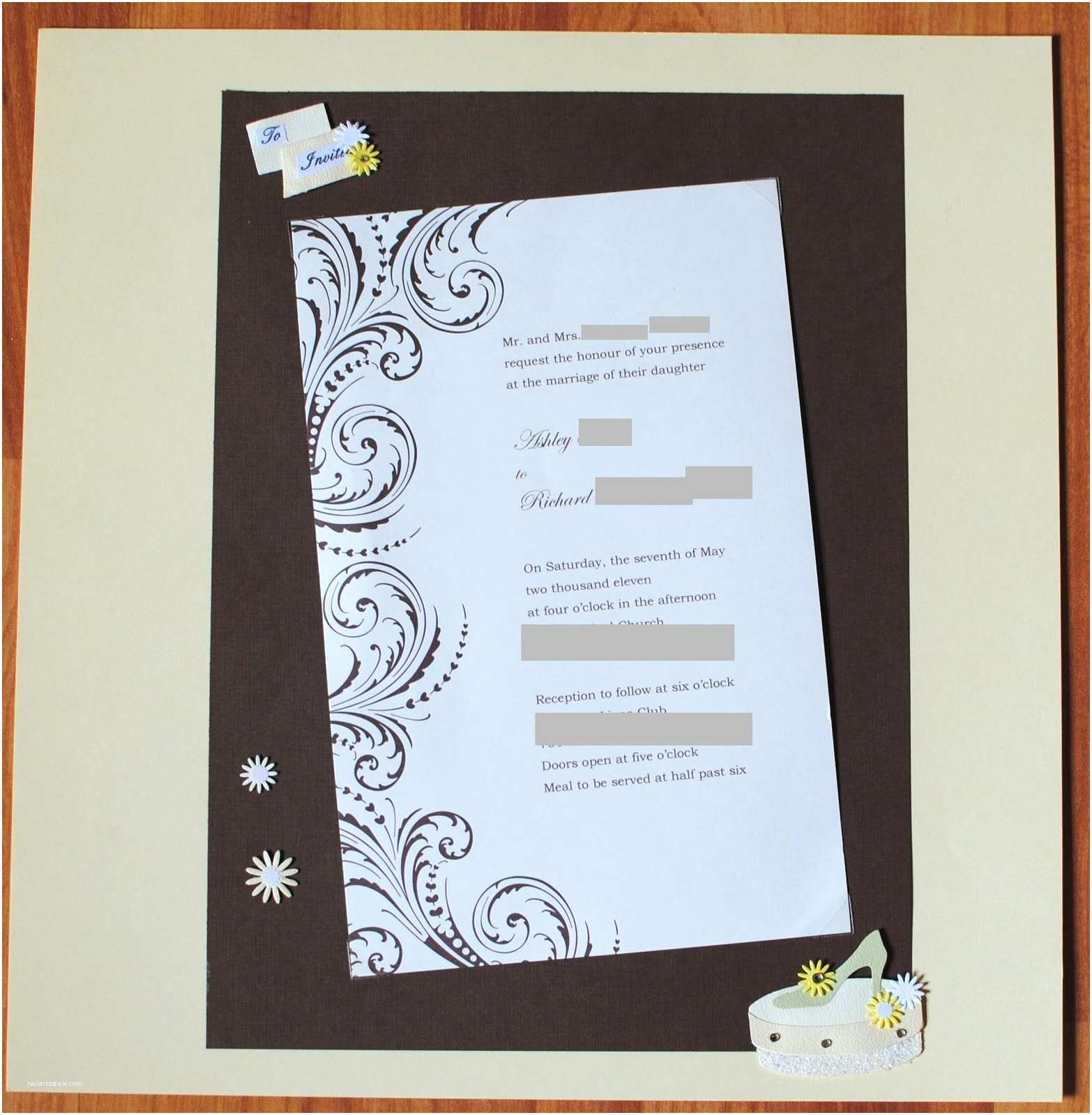 Wedding Invitation Wording From Nephew the Best Days Your Life Scrapbooking Sunday Wedding