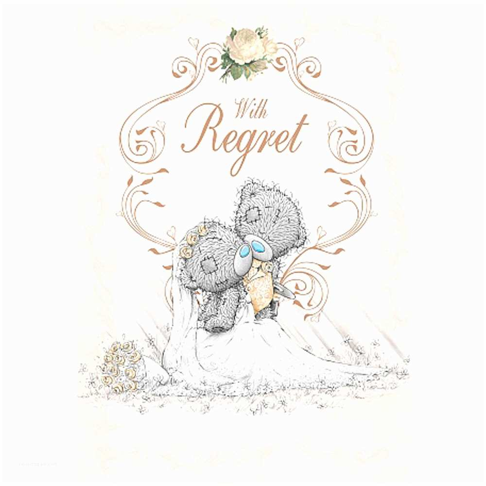 Wedding Invitation Wording From Nephew Wedding Invitation with Regret Me to You Card A01ps021