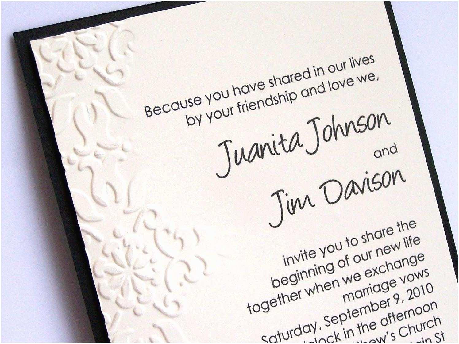 Wedding Invitation Wording Ideas Best Album Cute Wedding Invitation Wording