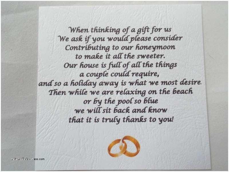 Wedding Invitation Wording Money Instead Of Gifts How to ask for Money Instead Wedding Gifts