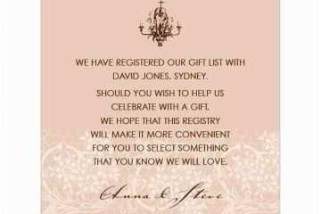Wedding Invitation Wording Money Instead Of Gifts Wedding