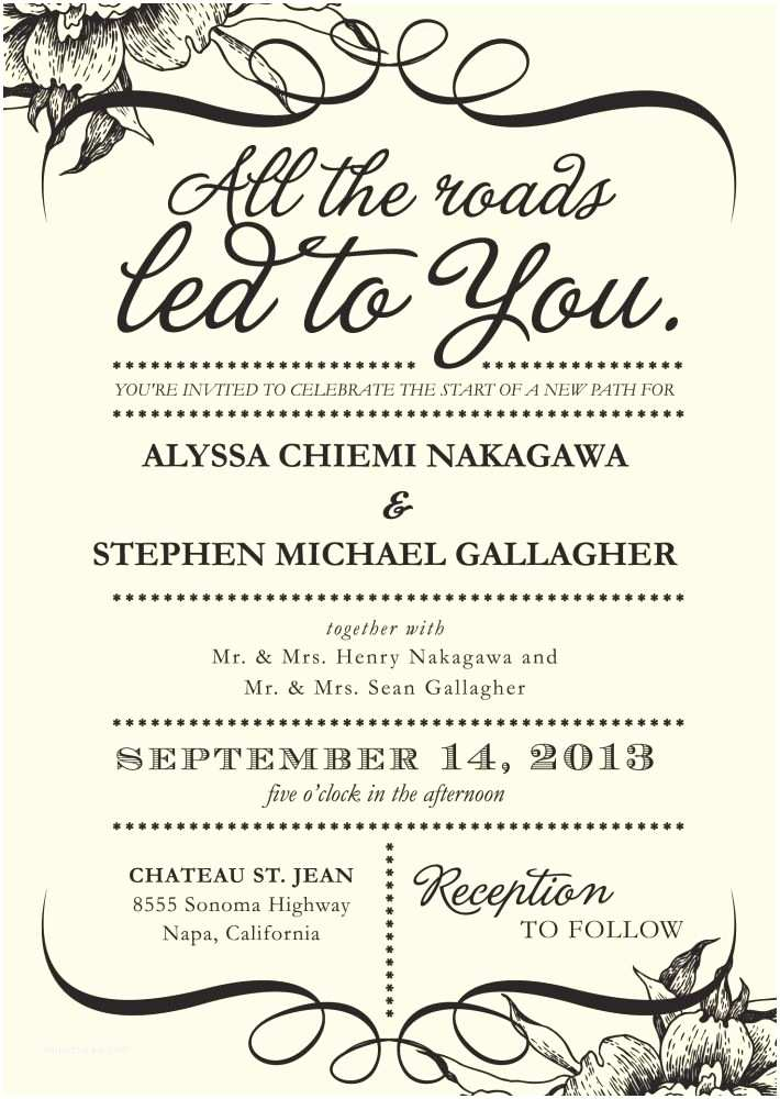 Wedding Invitation Wording Options 25 Best Ideas About Wedding Invitation Wording On