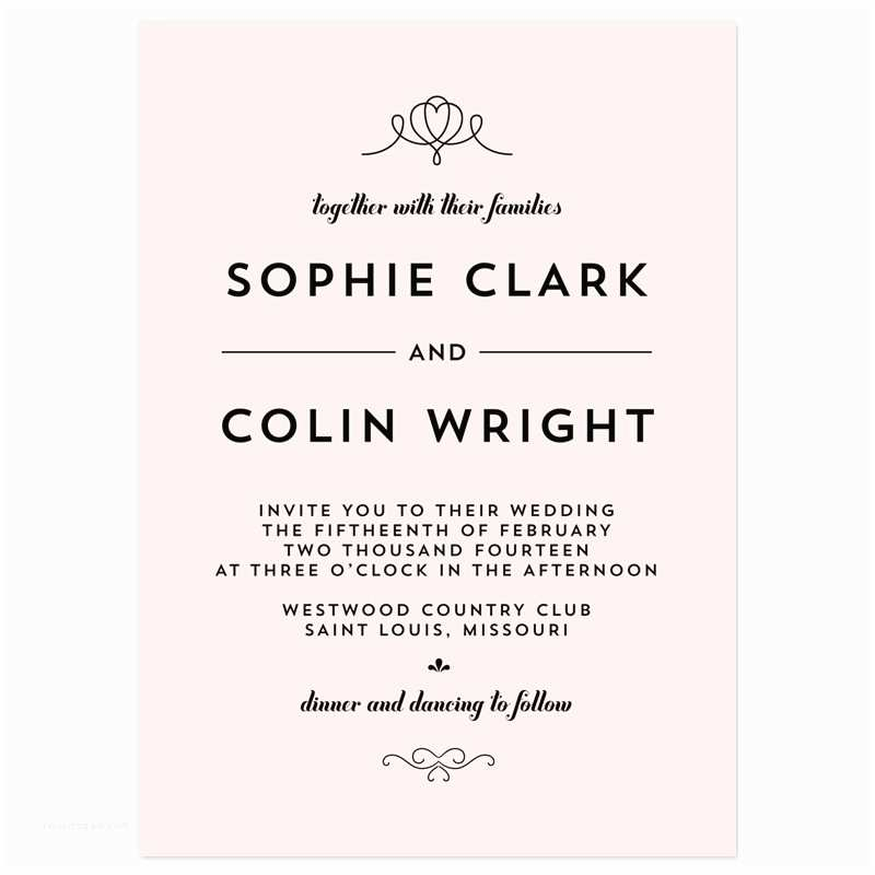 Wedding Invitation Wording Options Fearsome Casual Wedding Invitation Wording