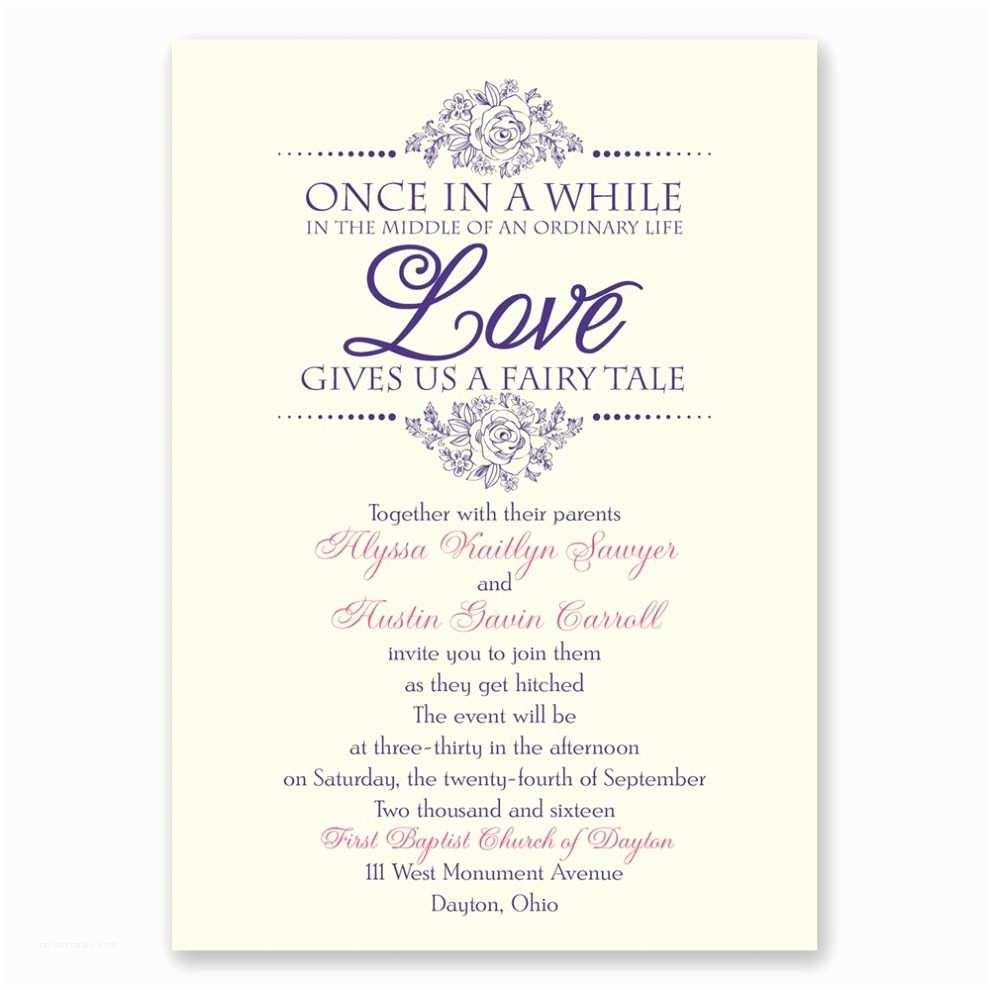 Wedding Invitation Wording Samples Wedding Invite Wording