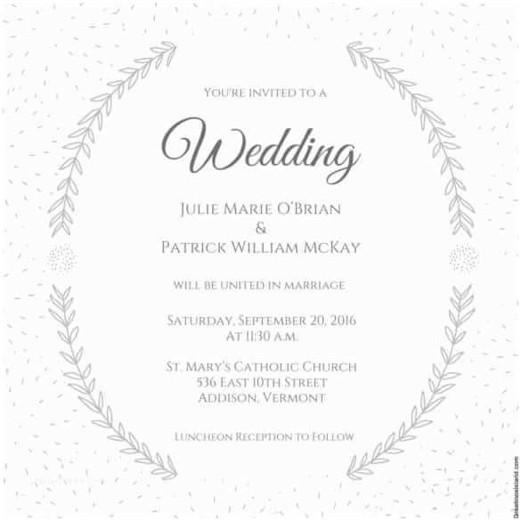 Wedding Invitation Wording Templates 74 Wedding Invitation Templates Psd Ai