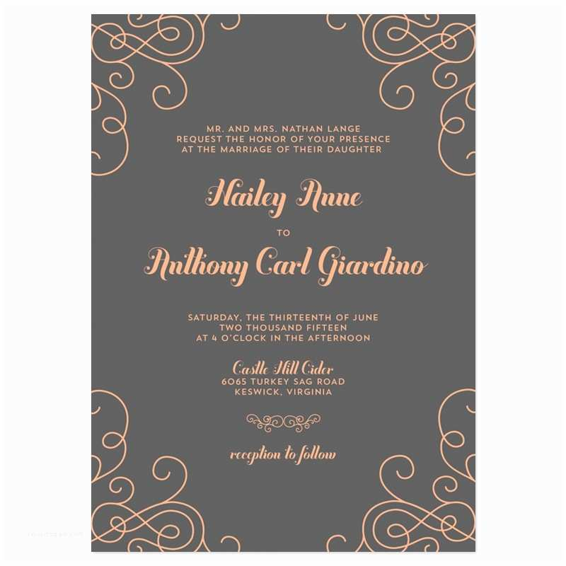 Wedding Invitation Wording Templates Modern Wedding Invitation Wording Modern Wedding
