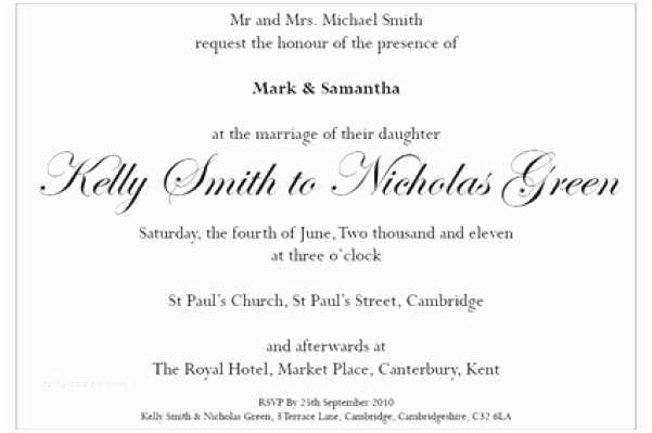 Wedding Invitation Wording without Parents Parents Name Wedding Invitation – Guitarreviews