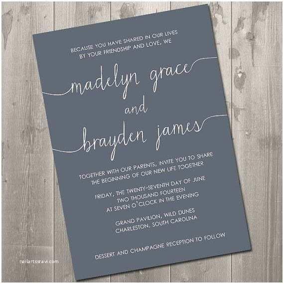 Wedding Invitation Wording without Parents Wedding Invitation Wording without Parents Cobypic
