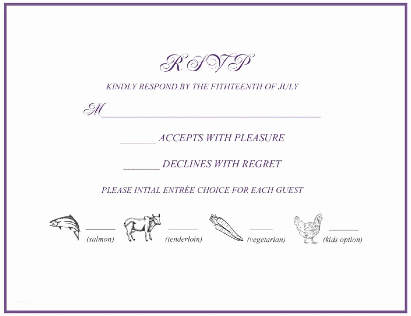 Wedding Invitations and Response Cards All In One Rsvp 101 How to Rsvp to A Wedding or event Rsvpify