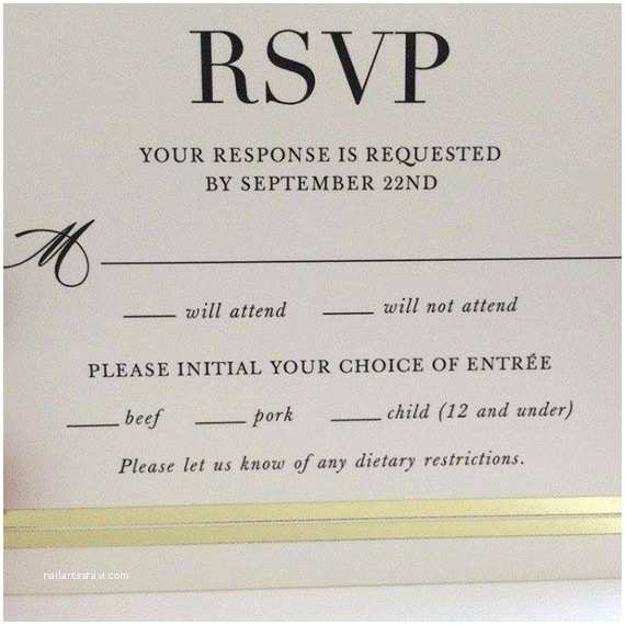 Wedding Invitations and Response Cards All In One the Hilarious Typo that Made This Wedding Rsvp Card Go