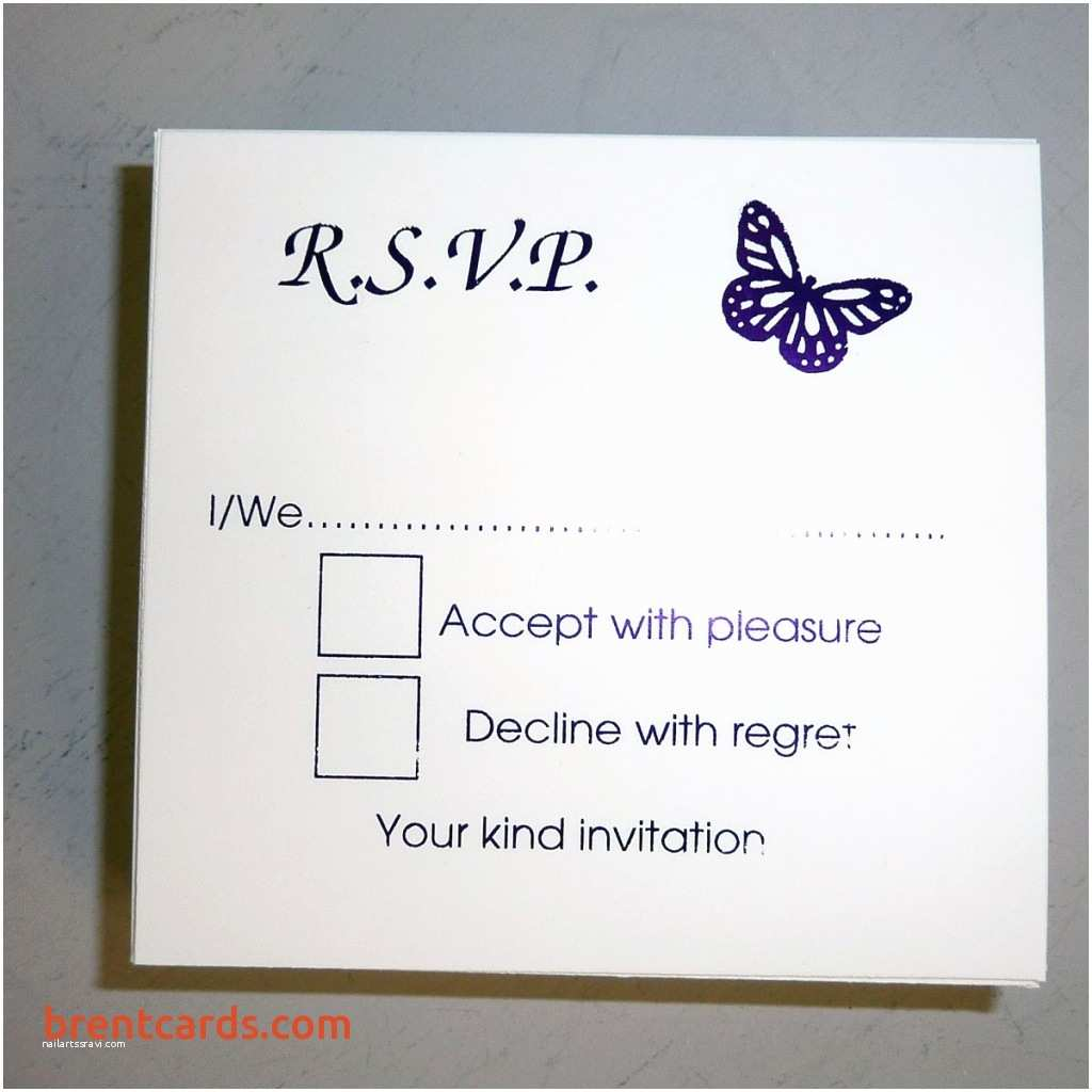 Wedding Invitations and Rsvp Blank Rsvp Wedding Cards