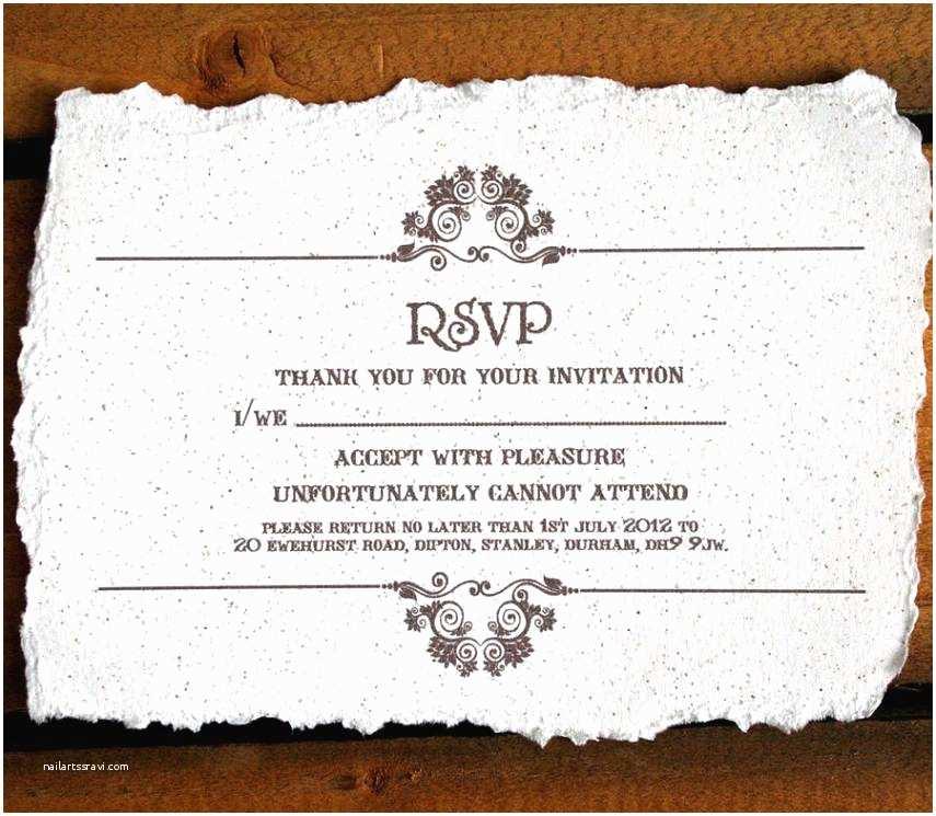 Wedding Invitations and Rsvp Magnificent Wedding Invitation Rsvp Wording