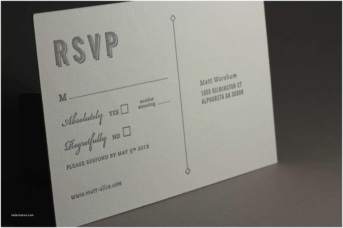 Wedding Invitations and Rsvp Wedding Invitation Rsvp Wording M Matik for