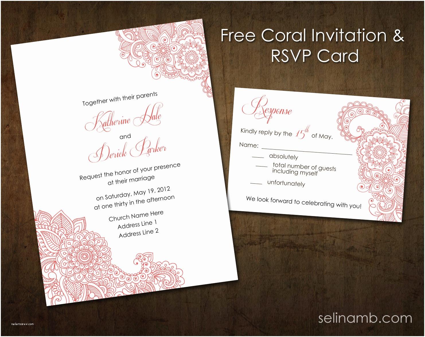 Wedding Invitations and Rsvp Wedding Invitations and Rsvp