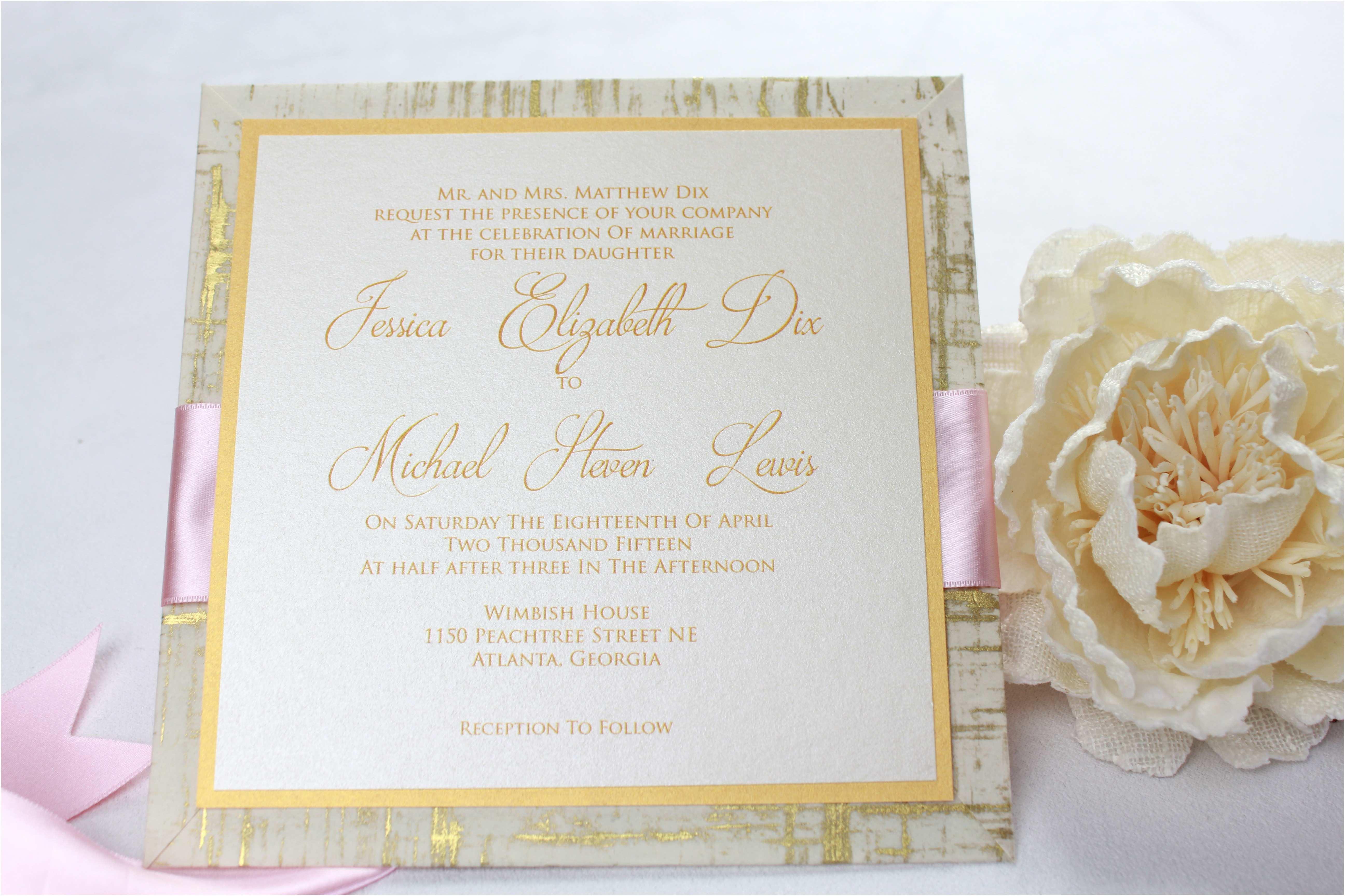 Wedding Invitations atlanta Old Fashioned Wedding Invitation Design Templates Ensign