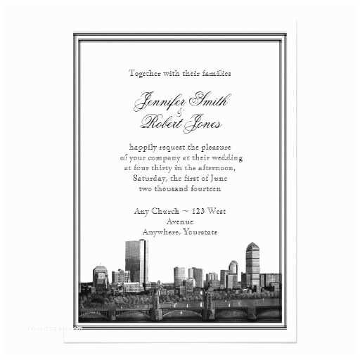Wedding Invitations Boston 1000 Images About Boston Skyline Wedding theme On