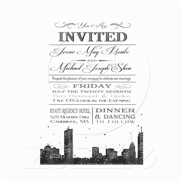 Wedding Invitations Boston 86 Best Invitation Ideas Images On Pinterest