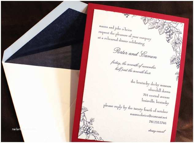Wedding Invitations Boston Wedding Invitations From Yours Truly Mara