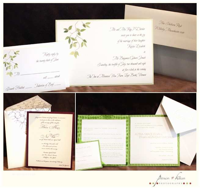 Wedding Invitations Boston Wedding Invitations From Yours Truly Mara