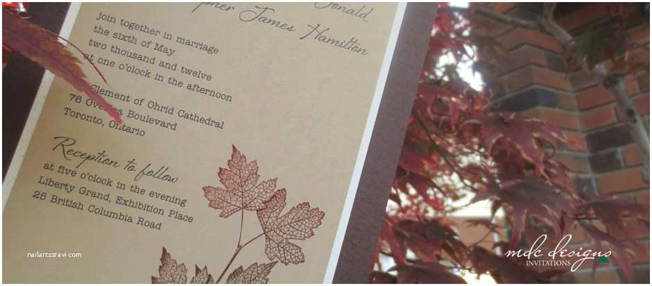 Wedding Invitations Burlington Mdc Designs Handmade Invitations