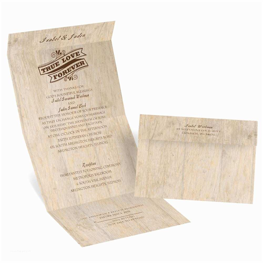 Wedding Invitations by Dawn Choose Your Design Rustic Seal and Send Invitation