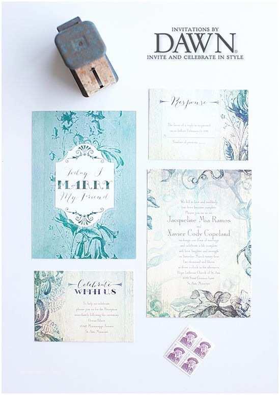 Wedding Invitations by Dawn Stylish and Fun Wedding Invitations by Dawn