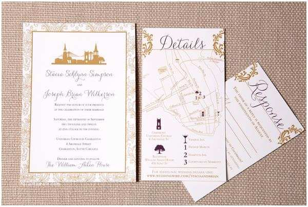 Wedding Invitations Charleston Sc Charleston Sc Skyline Wedding Invitation – Scotti Cline