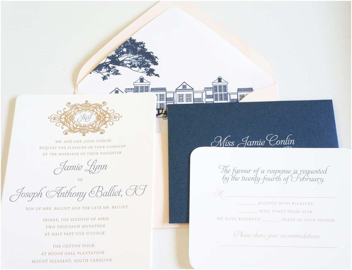 Wedding Invitations Charleston Sc Cotton Dock Invitation Web Wedding Invitations