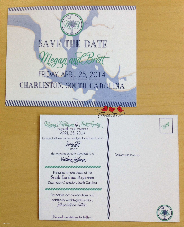 Wedding Invitations Charleston Sc Page 2