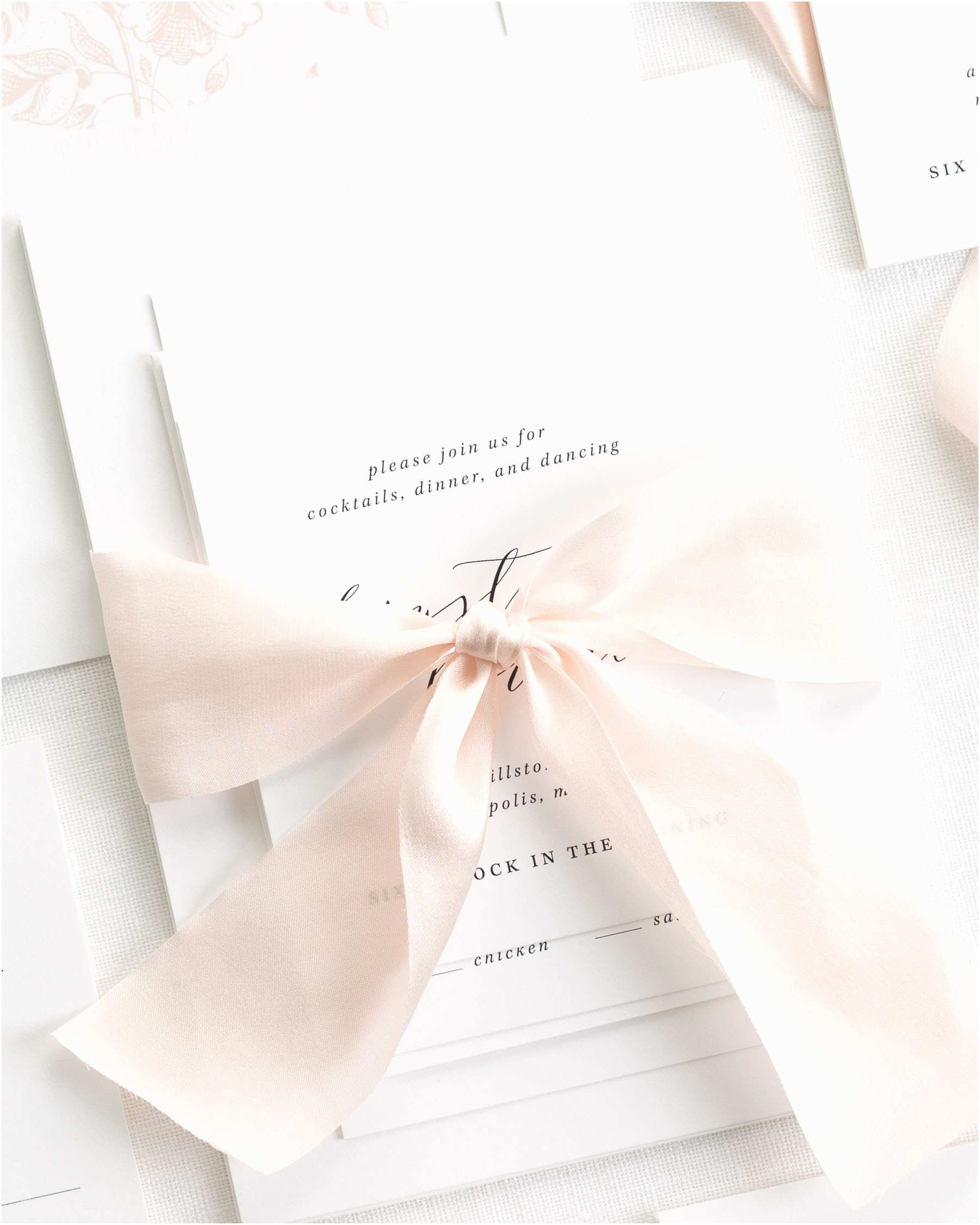 Invitations Charlotte Nc Charlotte Ribbon  Invitations Ribbon