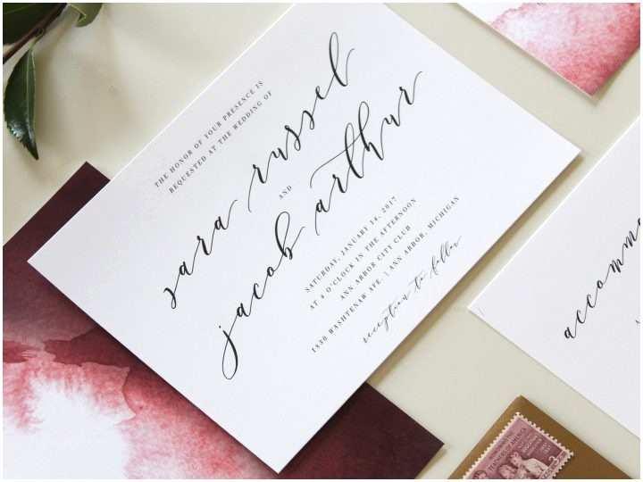 Wedding Invitations Charlotte Nc Modern Wedding Invitations Charlotte Nc
