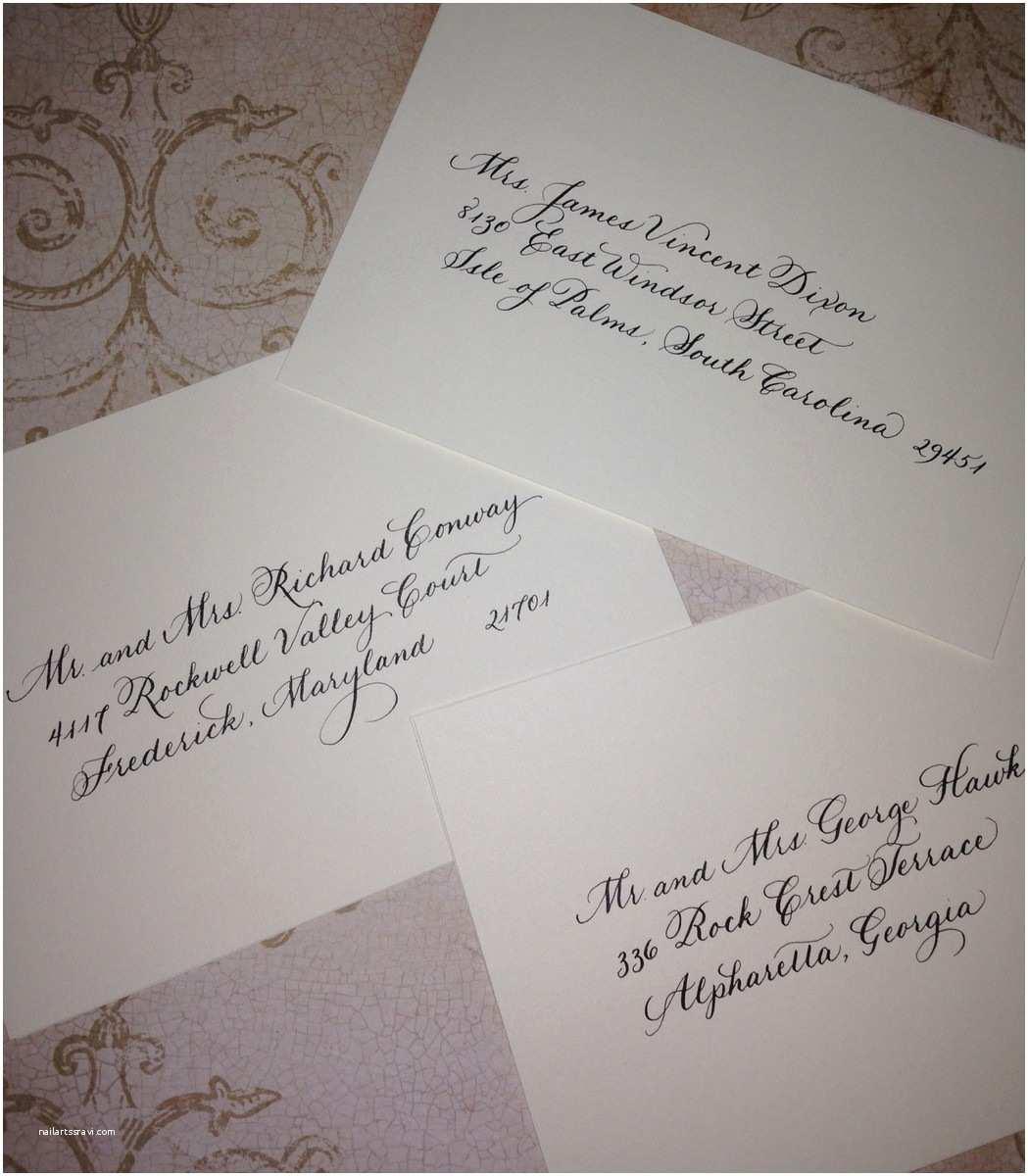 Wedding Invitations Charlotte Nc the Write Occasion Calligraphy Invitations Charlotte