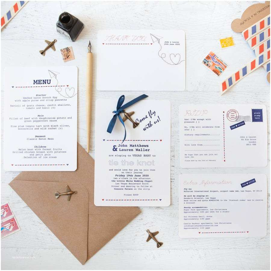 Wedding Invitations Cheap Packs Fly with Us Diy Wedding Invitation Pack by Wedding In A