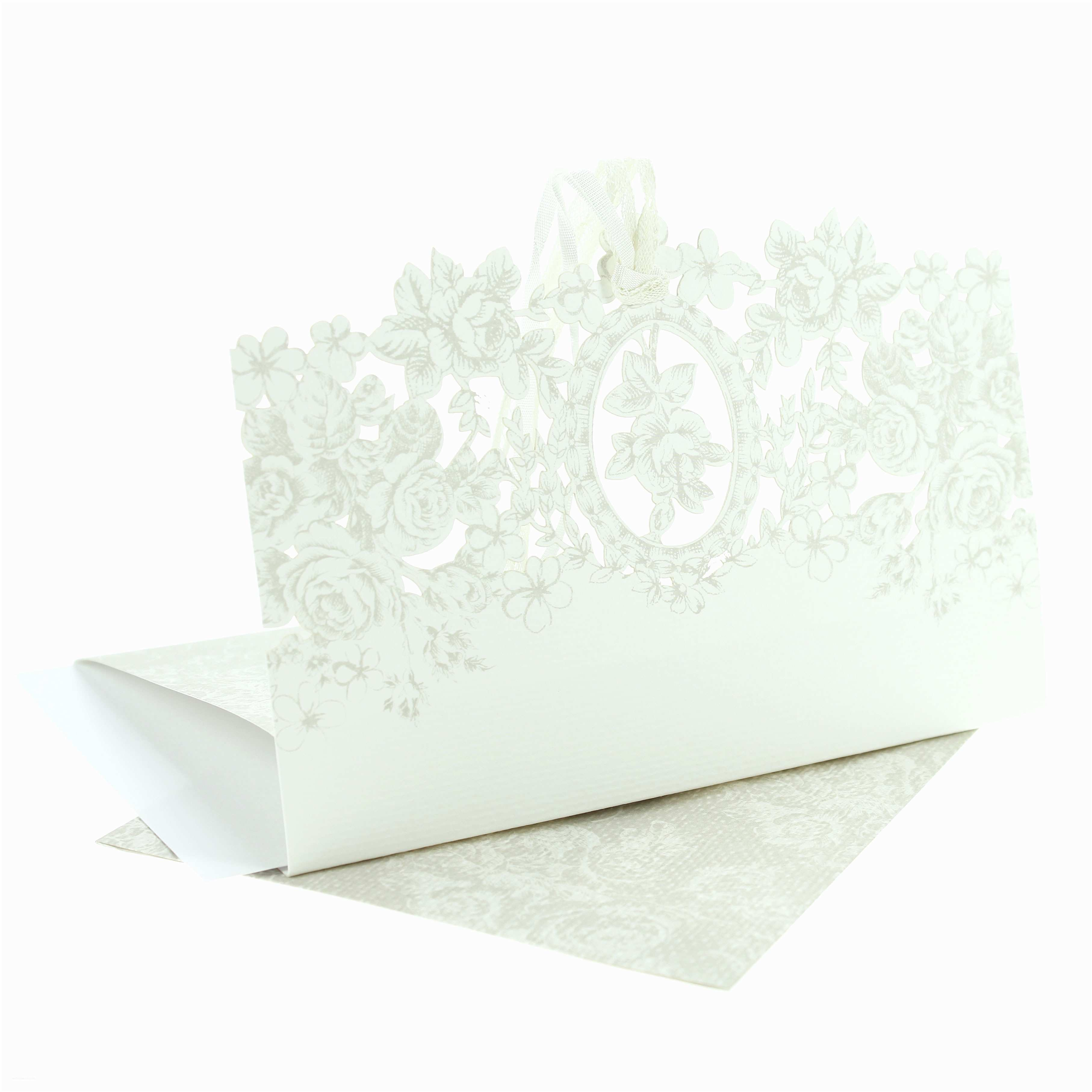 Wedding Invitations Cheap Packs Pack Of 8 Vintage Floral Wedding Invitations
