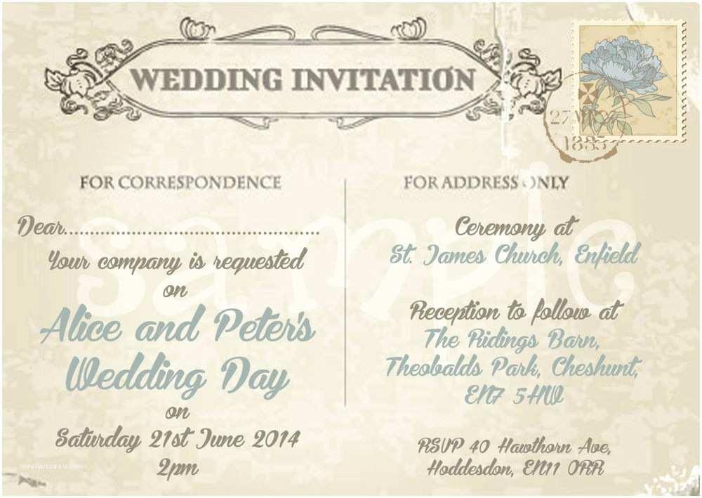 Personalised WEDDING Invites~Shabby Chic Love Birds//Hearts ~Ceremony Invitations