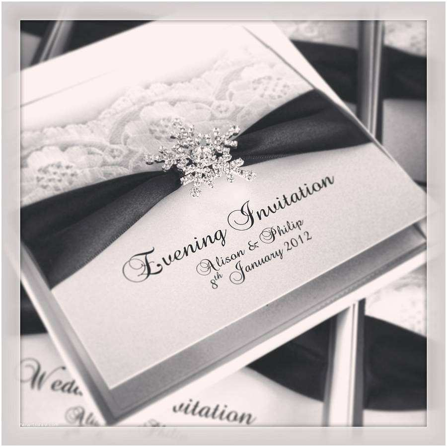 Wedding Invitations Cheap Packs Snowflake Wedding Invitations 10 Pack by Made with Love