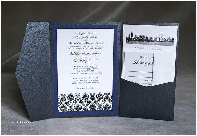 Wedding Invitations Chicago Impressive Wedding Invitations Chicago