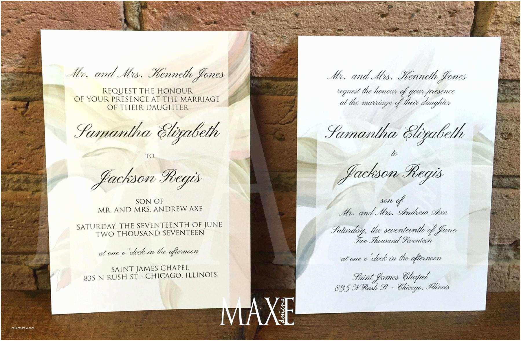 Wedding Invitations Chicago New Chicago themed Wedding Invitations Parecloud