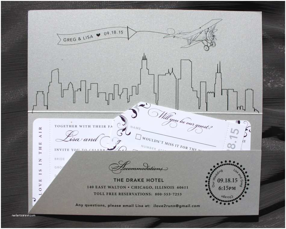 Wedding Invitations Chicago Skyline Archives Page 3 Of 6 Emdotzee Designs
