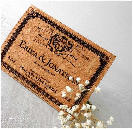 Wedding Invitations Cork Pinterest • the World's Catalog Of Ideas