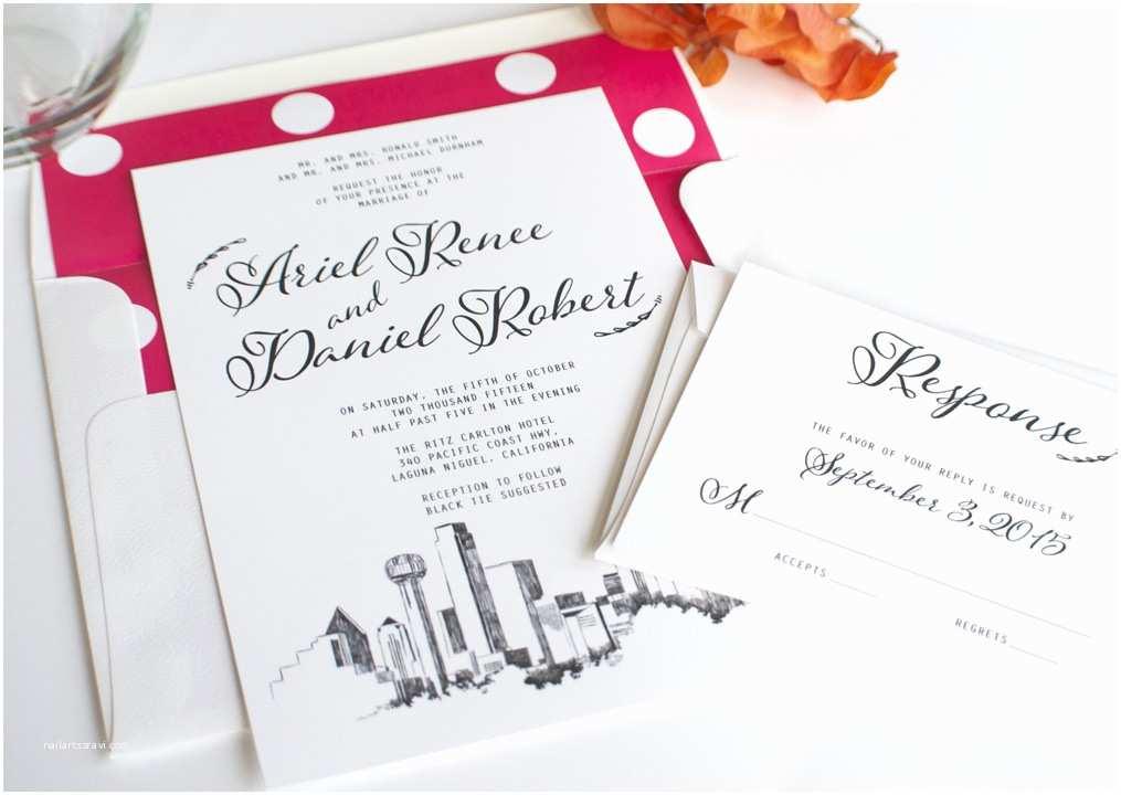 Wedding  Dallas Dallas Skyline Wedding