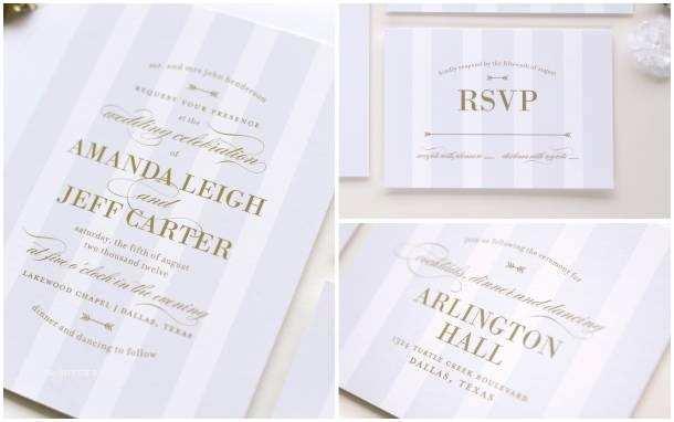 Wedding Invitations Dallas Meet Palmetto — Lauren Chism