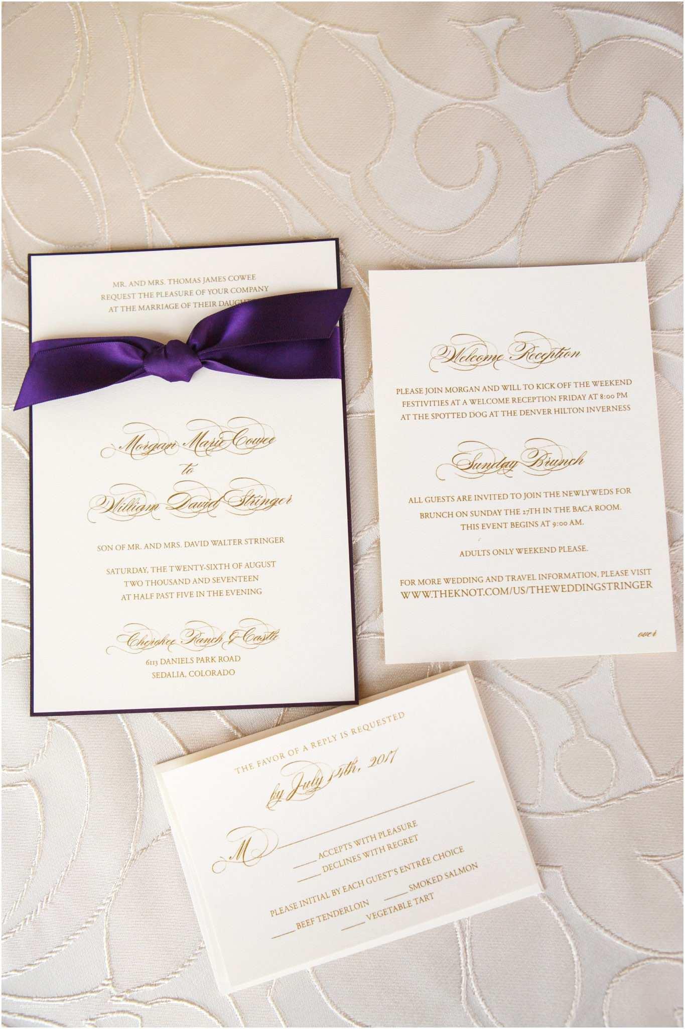 Wedding Invitations Denver Cloud 9 Wedding Planners Denver