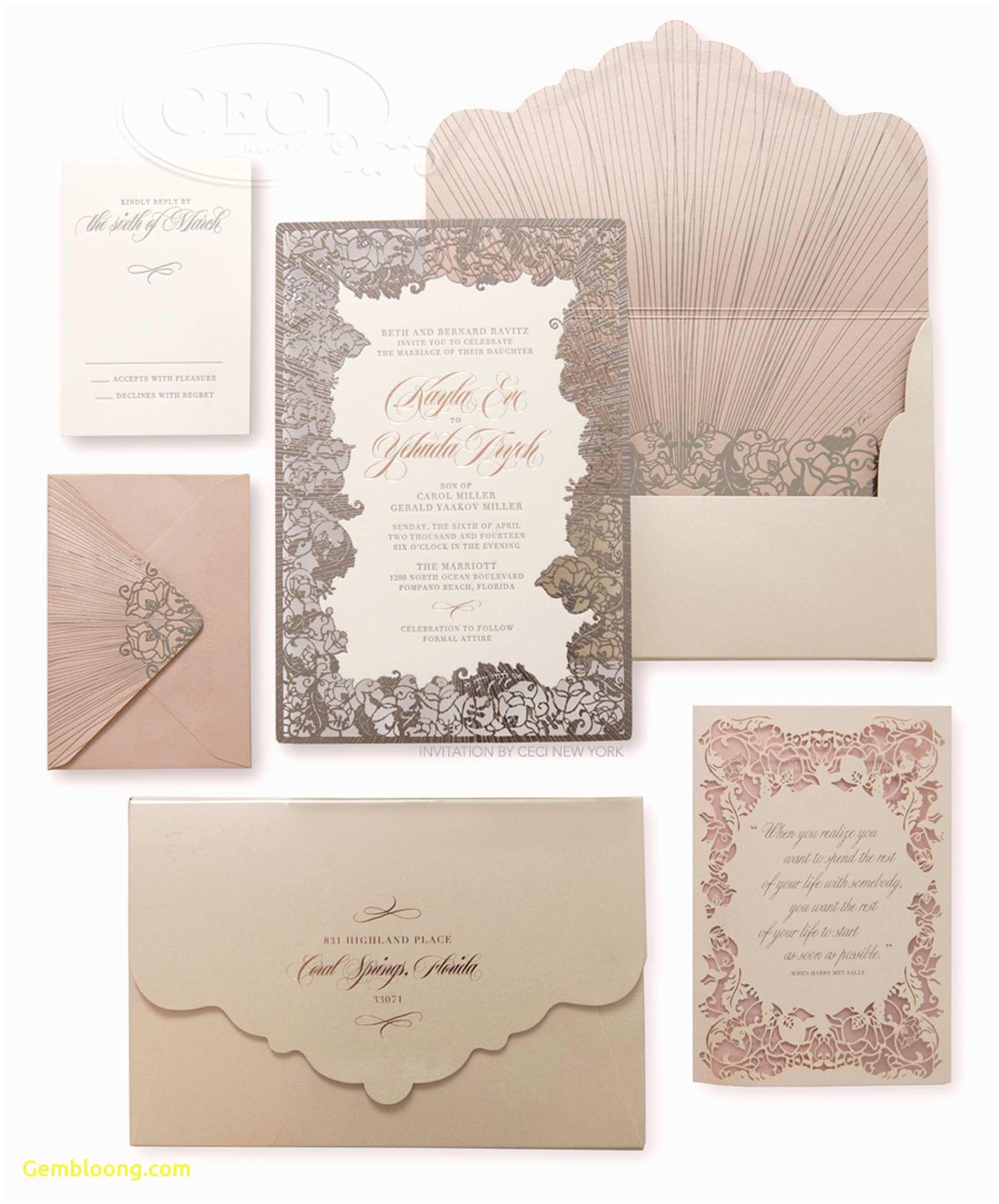 Wedding Invitations Design Your Own Online Inspirational Free Wedding Menu Templates