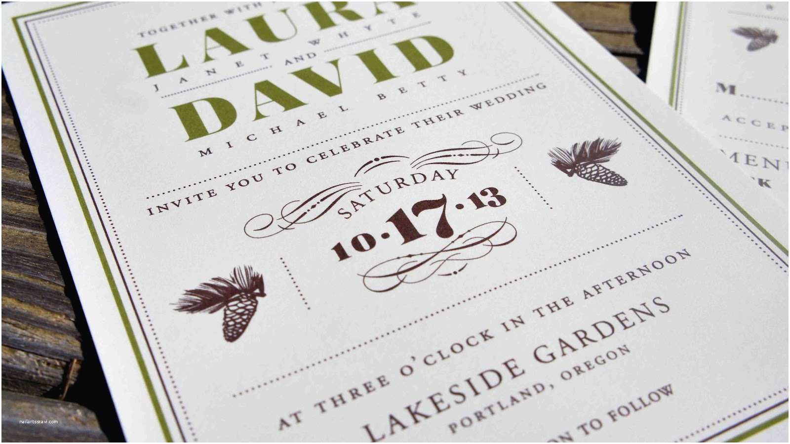 Wedding Invitations Design Your Own Online Rustic Wedding Invitations Templates